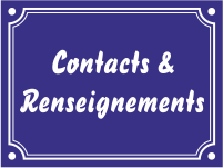 contact et renseignement